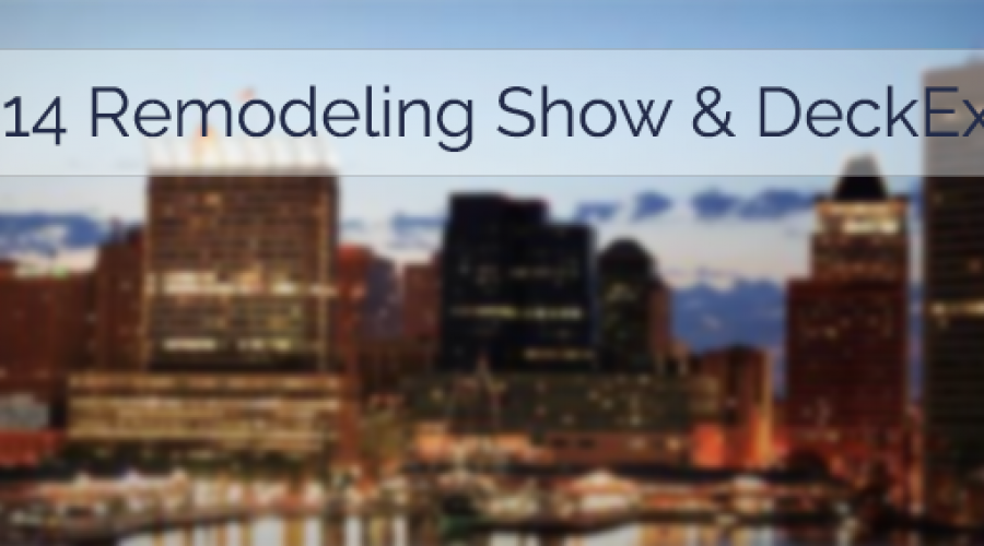 Dexerdry to Appear at the 2014 Remodeling Show & DeckExpo